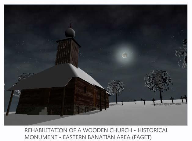 Biserica din lemn reabilitare