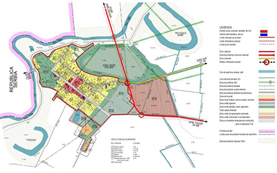 General Urban Plan of a Small Village